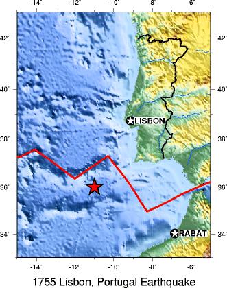 Portugal terremoto de 1755 em Lisboa 01