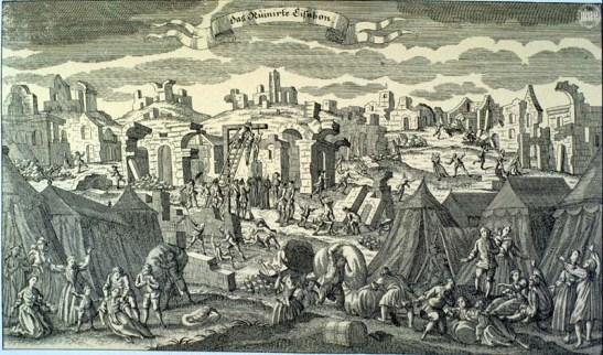 Portugal terremoto de 1755 em Lisboa 06