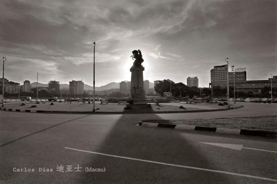 Carlos Dias fotografia antiga de Macau praca Ferreira do Amaral 04