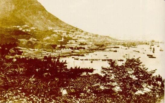1880年維多利亞港Victoria Harbour/Porto