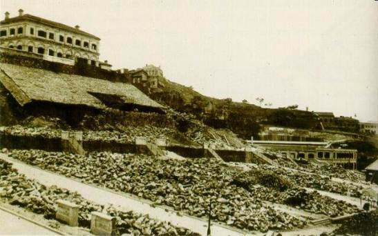 "1894年鼠疫過後,太平山區全力進行重建rebuild Victoria after the ""black death"""