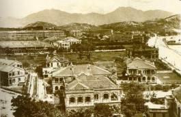1902年尖沙嘴漆鹹道 Chatham road, Tsimshatsui
