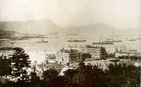 1903年中環及海港Central & harbour/porto