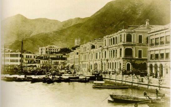 1920年西環碼頭Western market piers