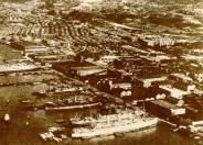 1940年九龍倉及油麻地地區Kowloon Wharf & Yaumati