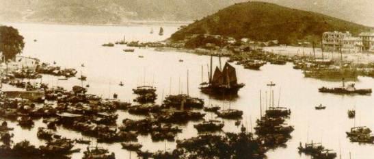 1947年港仔海灣Aberdeen harbour