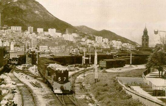 1963年九龍火車站Kowloon train station