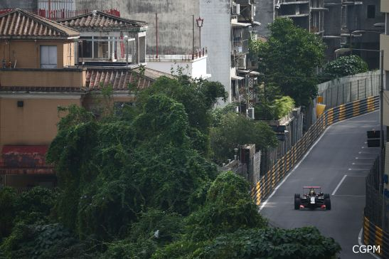 Macau GPM 2015 Fórmula 3 prova classificatória 03