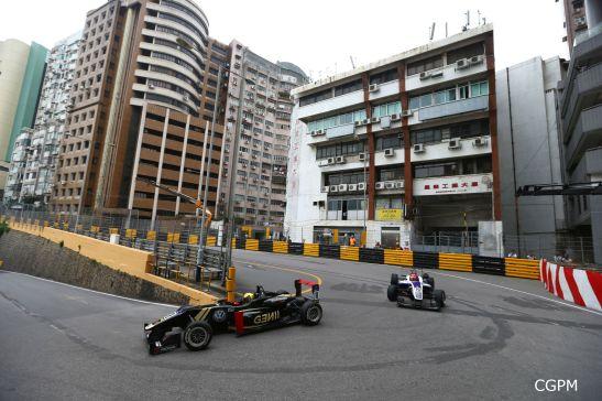 Macau GPM 2015 Fórmula 3 prova classificatória 04