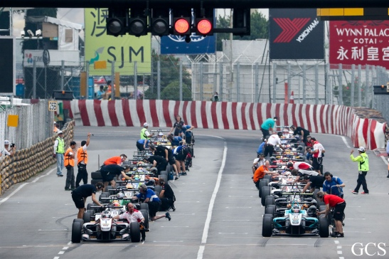 Macau GPM 2015 Fórmula 3 prova classificatória 09