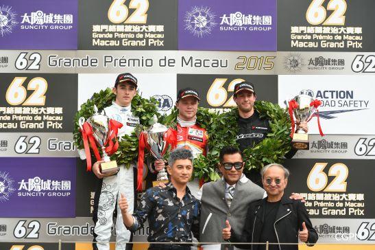 Macau GPM 2015 Fórmula 3 prova classificatória 14
