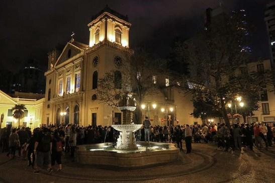 Sé Catedral o destino final da primeira procissão (foto: M.V. Basílio)