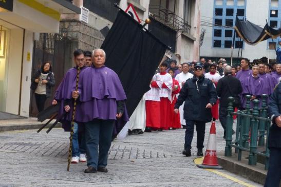 Macau 6a.Feira Santa Procissao Senhor Morto 14