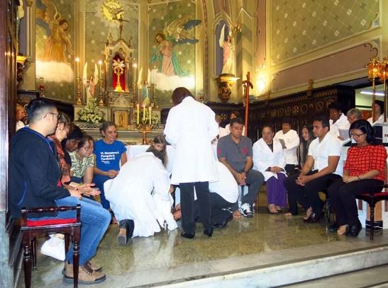 Pascoa 2016 Igreja Divino Espirito Santo 5a.F Santa 09