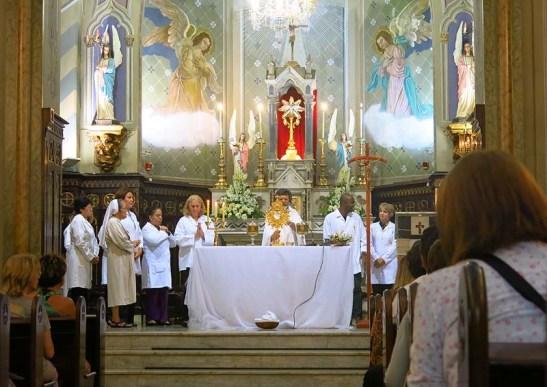 Pascoa 2016 Igreja Divino Espirito Santo 5a.F Santa 13