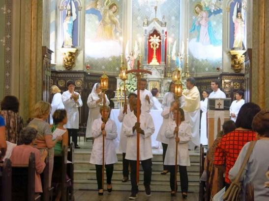 Pascoa 2016 Igreja Divino Espirito Santo 5a.F Santa 14