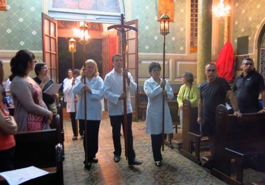 Pascoa 2016 Igreja Divino Espirito Santo 5a.F Santa 19