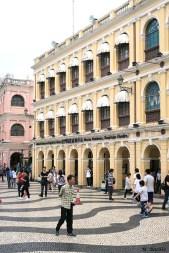Outro aspecto do Centro de Turismo de Negócios de Macau