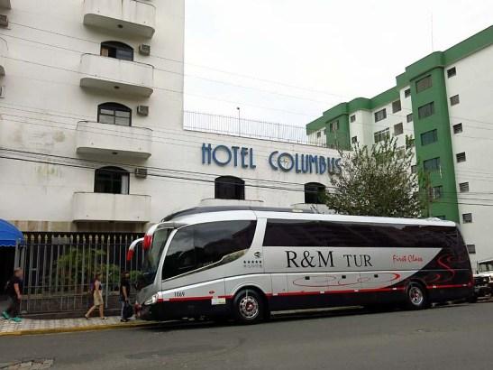 O hotel e o bom ônibus
