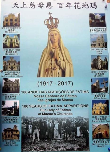 Macau 100 anos N.Sra. Fatima