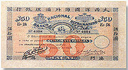 Macau pataca 1906