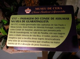 Museu de Cera . Santuario N.S. Aparecida 05a