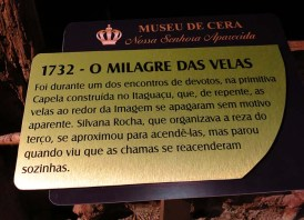 Museu de Cera . Santuario N.S. Aparecida 10a