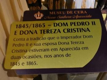 Museu de Cera . Santuario N.S. Aparecida 18b
