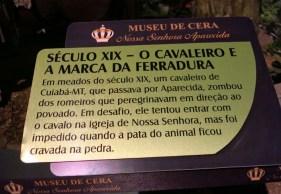 Museu de Cera . Santuario N.S. Aparecida 19a