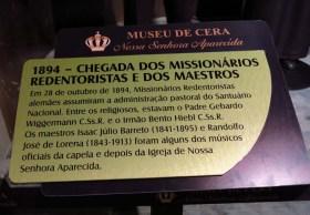 Museu de Cera . Santuario N.S. Aparecida 23a