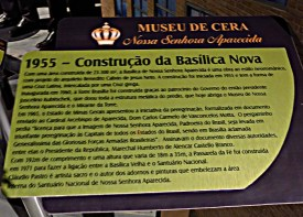 Museu de Cera . Santuario N.S. Aparecida 37a