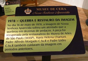Museu de Cera . Santuario N.S. Aparecida 41a