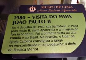 Museu de Cera . Santuario N.S. Aparecida 43a