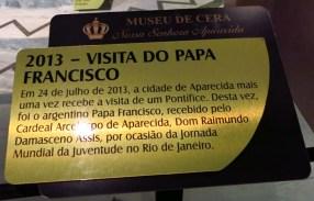 Museu de Cera . Santuario N.S. Aparecida 46a