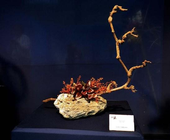 Ikebana arte do Japao 13