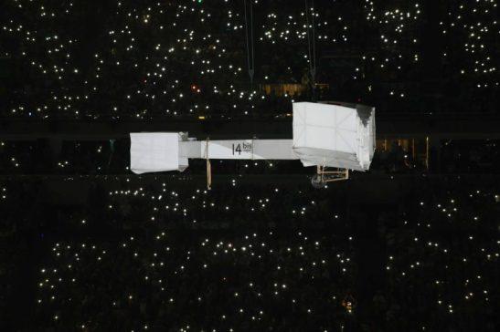 Rio de Janeiro- RJ- Brasil- 05/08/2016- O Prefeito do Rio de Janeiro, Eduardo Paes, durante cerimônia de abertura das Olimpíadas Rio 2016, no estádio do Maracanã. Foto: Beth Santos/ PCRJ/Fotos Públicas