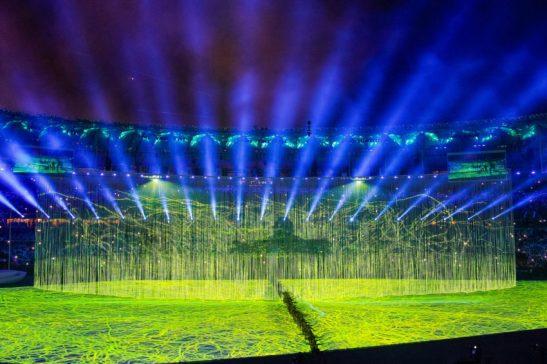 Cerimônia de Abertura dos Jogos Olímpicos Rio 2016. (Rio de Janeiro - RJ, 05/08/2016) Foto: Beto Barata/PR