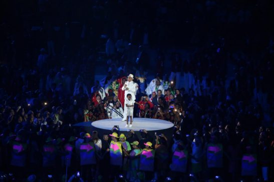 5 de Agosto de 2016 - Rio 2016 - Cerimônia de abertura das Olimpíadas Rio2016 no Maracanã ..Foto: Roberto Castro/ Brasil2016