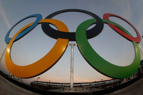 Rio de Janeiro - Anéis olímpicos decoram Estádio do Maracanã para cerimônia de abertura dos Jogos Rio 2016 (Fernando Frazão/Agência Brasil/Fotos Públicas)
