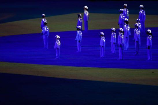 Rio de Janeiro - Cerimônia de encerramento dos Jogos Olímpicos Rio 2016, no Maracanã (Fernando Frazão/Agência Brasil)