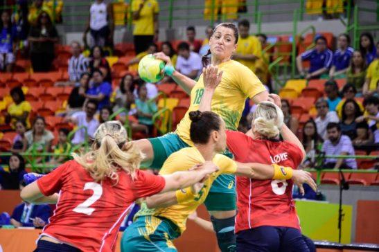 Brasil x Noruega - RIO DE JANEIRO 06-8-2016 - Arena do Futuro - Brasil x Noruega - Foto: WILLIAM LUCAS - Brasil - rj - Rio de Janeiro - /Fotos Públicas