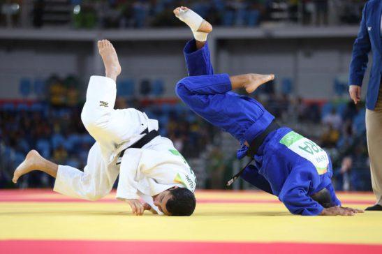 06 de Agosto de 2016 - Rio 2016 -Judô- Felipe Jitaday vence a primeira Luta .Foto: Roberto Castro/ Brasil2016/Fotos Públicas