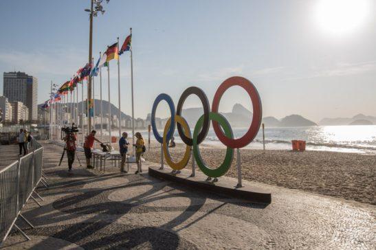 Rio de Janeiro- RJ- Brasil- 06/08/2016- Praia de Copacaba Foto: Renato Sette Camera/ EOM/ RIotur/Fotos Públicas
