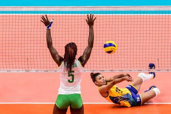 Brasil x Camarões - RIO DE JANEIRO 06-8-2016 - Maracanãzinho - Vôlei Feminino - Brasil x Camarões - Foto: WILLIAM LUCAS - /Inovafoto/Fotos Públicas
