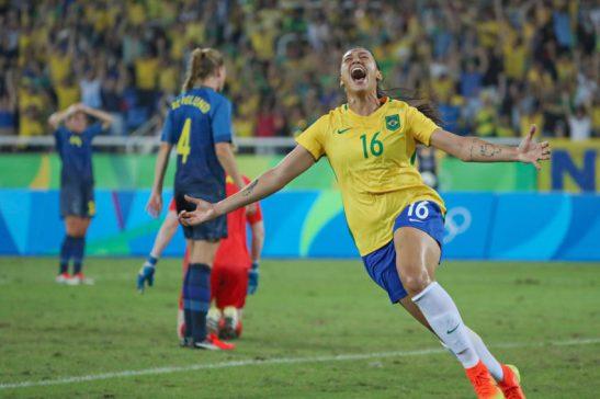 Brasil 5 x 1 Suécia - Jogos Olímpicos do Rio de Janeiro Foto: Ricardo Stuckert/CBF