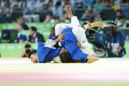 07 de Agosto de 2016 - Rio 2016 -Judô- Erica Miranda X chinesa Yingnan Ma .Foto: Roberto Castro/ Brasil2016