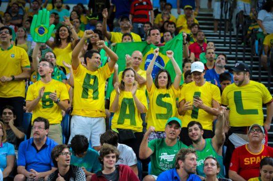 Rio de Janeiro- RJ- Brasil- 09/08/2016- Basquete Masculino: Brasil e Espanha. Foto: Ministério do Esporte