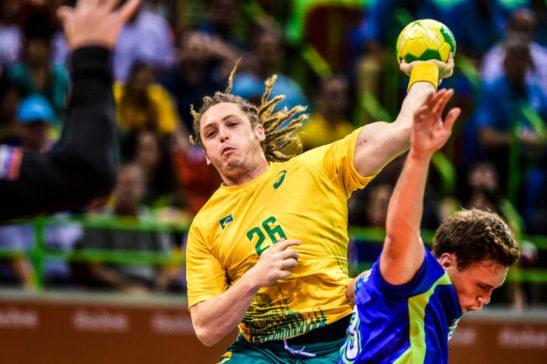 Brasil x Slovênia - RIO DE JANEIRO 09/8/2016 - Parque Olímpico - Handebol masculino - Brasil x Slovênia - - 0 - - - - www.inovafoto.com.br - id:114318