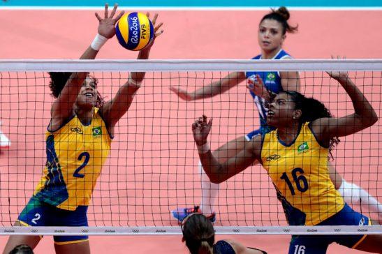 Jogos Olímpicos Rio2016 - RIO DE JANEIRO 08/8/2016 - Parque Olímpico - Vôleibol feminino - Brasil x Argentina - Brasil - rj - Rio de Janeiro - - - www.inovafoto.com.br - id:114278