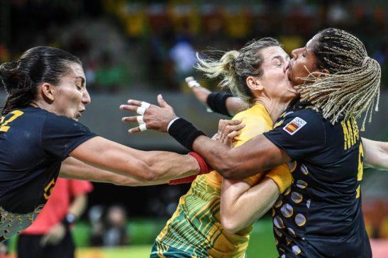 Brasil x Espanha - RIO DE JANEIRO 10/8/2016 - Parque OlÌmpico - Handebol feminino - Brasil x Espanha - Brasil - 0 - Rio de Janeiro - Arena do Futuro - - www.inovafoto.com.br - id:114370